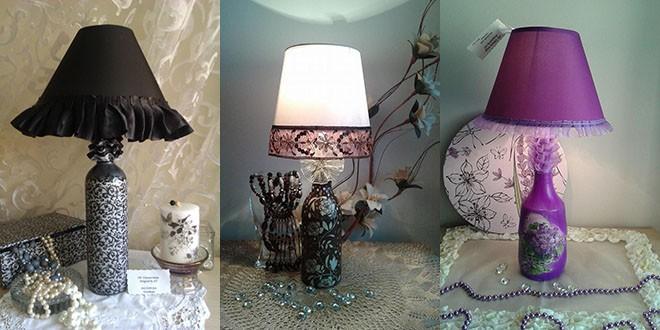 Ideju za izradu ukrasnih lampi Ana je dobila na jednoj slavi