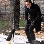"Jim Carrey at the ""Mr Popper's Penguin"" set in Central Park, NYC"