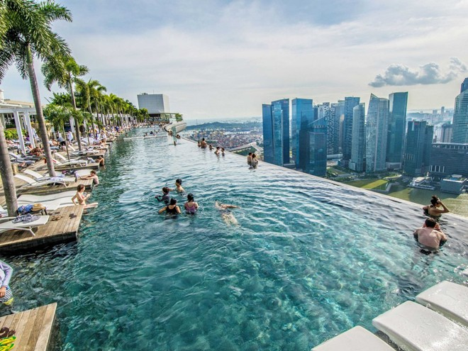 Marina Bay Sands Resort, Singapur