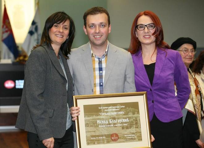 Dobitnik nagrade za novinarstvo 2014