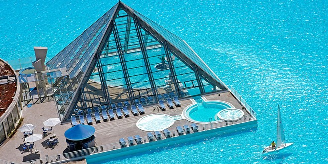 Najlepši bazeni na svetu RAJ ZA HEDONISTE