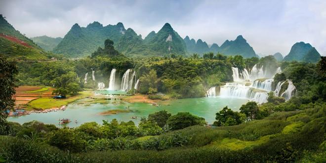 Najlepša antistres mesta na svetu DETIAN VODOPAD U KINI