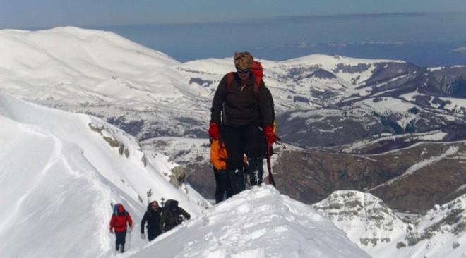 Bosna i Hercegovina - zimski uspon na Visocicu alpinisticki smer