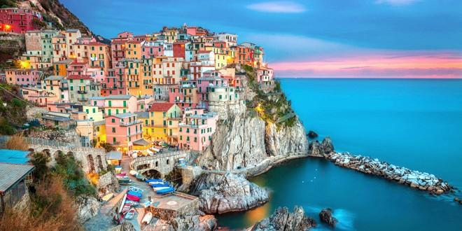 Najlepša antistres mesta na svetu NACIONALNI PARK CINQUE TERRE U ITALIJI