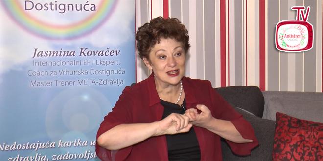 Jasmina Kovačev o Meta-Zdravlju NAJSLABIJA KARIKA JE EMOCIONALNO-MENTALNA