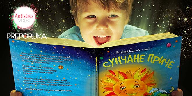 Slikovnica za decu i odrasle Sunčane priče Autor: Vladimir Janković Lale, ilustracije: Marija Radenković