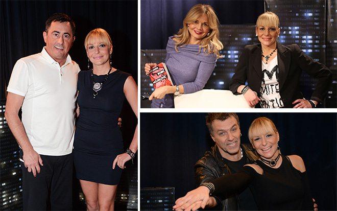 Voja Nedeljković, Mirjana Bobić Mojsilović i Zvonimir Đukić Đule sa Aleksandrom