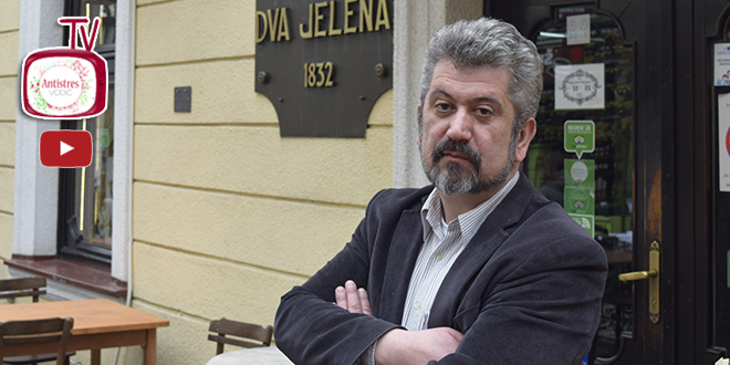 Zoran Nikolić Pisanje me podiže u orbitu više