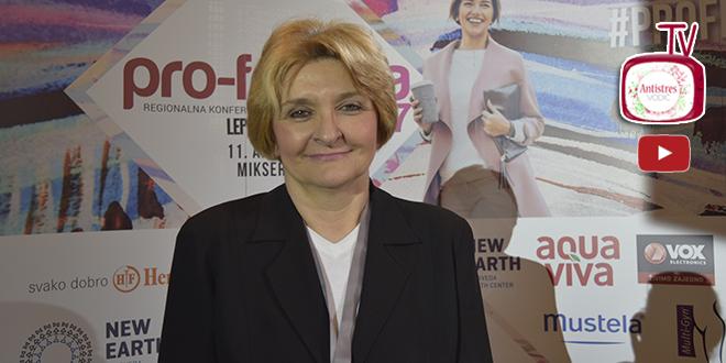 Prof. dr Danica Grujičić Ženama je mesto na čelu Srbije