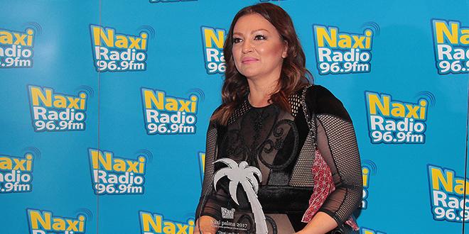 Nina Badrić Dobitnica Naxi palme za pesmu godine