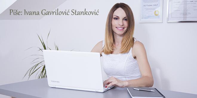 Ivana Gavrilović Stanković U stalnoj potrazi za skladom