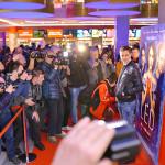 Milos Bikovic na premijeri filma Led