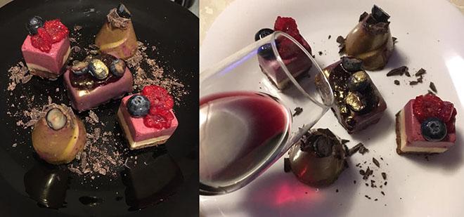 vino i desert
