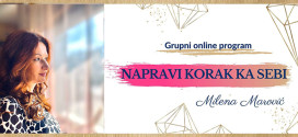 Grupni online program Napravi korak ka sebi